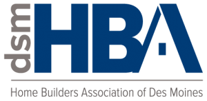 Logo for the Des Moines Home Builders Association