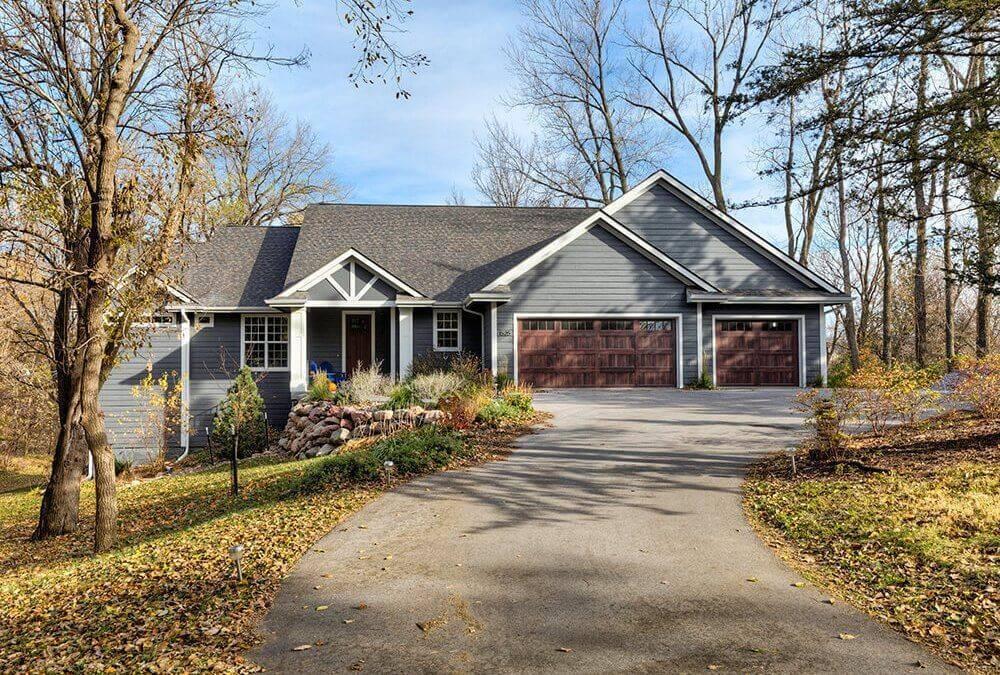 Rural Treed Custom Home