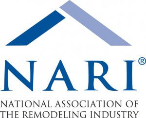 The logo for the National Association of The Remodeling Industry (NARI)