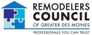 Logo for the remodelers council of greater Des Moines.