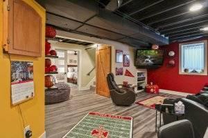 Iowa State basement remodel